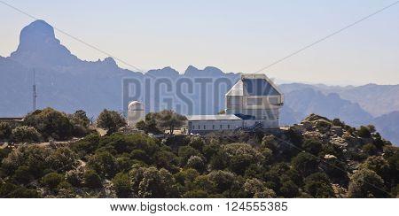 TUCSON, ARIZONA, FEBRUARY 28. Kitt Peak National Observatory on February 28, 2016, near Tucson, Arizona. The WIYN 3.5m telescope at Kitt Peak National Observatory near Tucson Arizona.