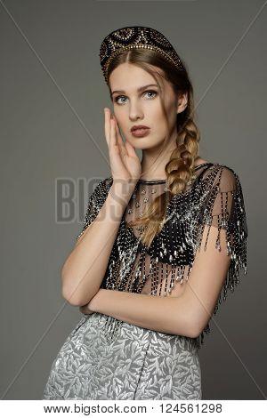 Young Girl A La Rus