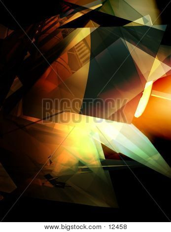 Abstract, Three Dimensional, Digital Background 7