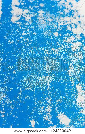 Blue Painted Surface Background