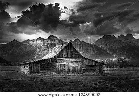Grand Teton National Park Mormon Row