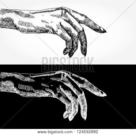 Sketch of a Hand