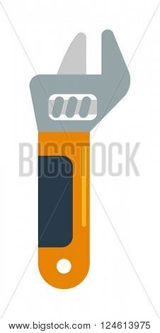 Wench tool vector illustration