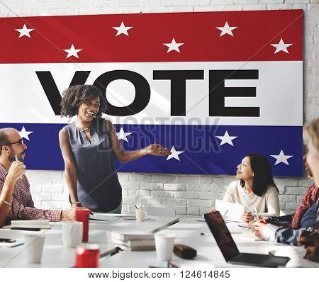 Vote Voting Election Politic Decision Democracy Concept