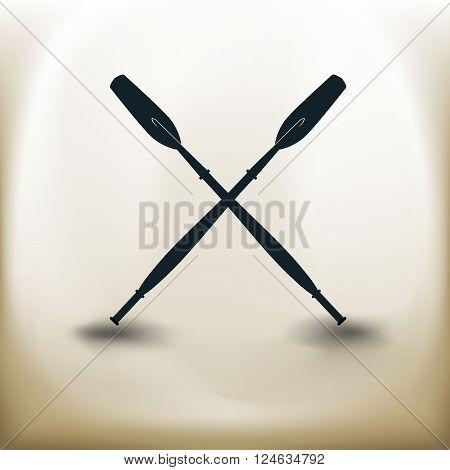 Crossed Paddle