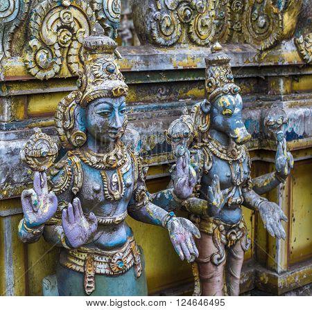 Seetha Amman Hindu temple in Sri Lanka