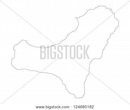 Map Of El Hierro