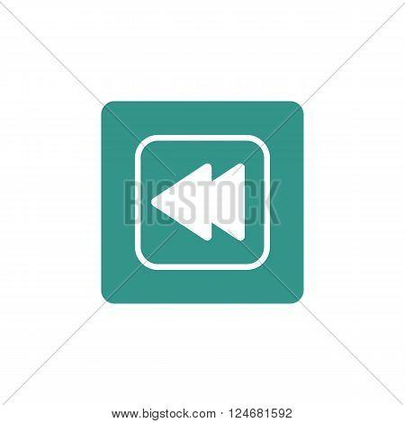 Music Previous Icon In Vector Format. Premium Quality Music Previous Icon. Web Graphic Music Previou