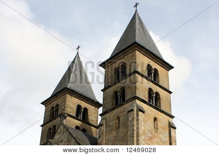Church towers
