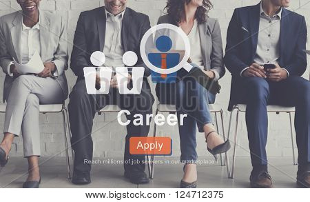 Career Human Resources Expertise Job Concept
