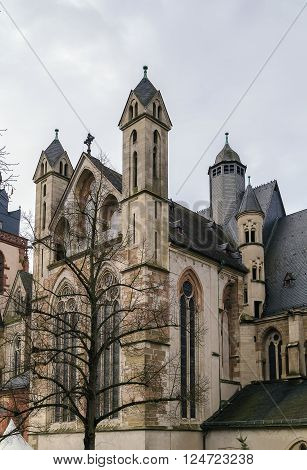 Wetzlar Cathedral is a large church in the town of Wetzlar Germany. Construction began in 1230 and is still unfinished