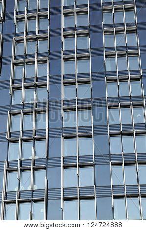Highrise Office windows