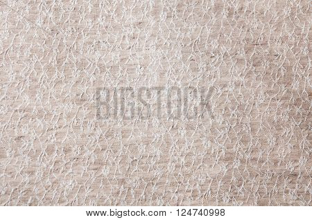 natural linen texture for the background closup