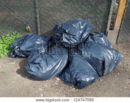 Black Gargage Bags