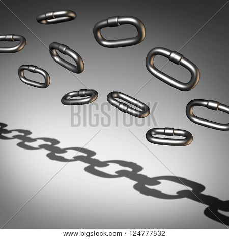 Chain Abstract Busuness Success Image Photo Bigstock