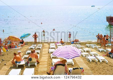 Summer Crimea Beach