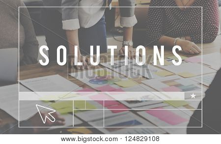 Solutions Decision Improvement Problem Solving Concept