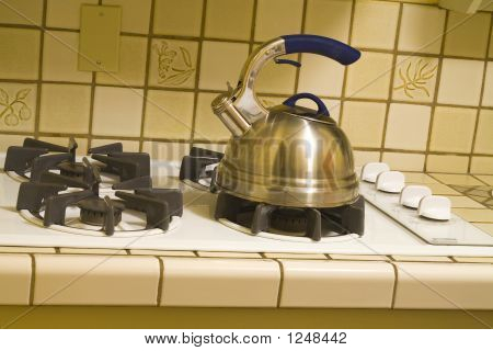 Teakettle On Stove
