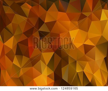Abstract polygonal background vector illustration geometric background