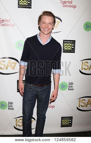 LOS ANGELES - APR 6:  Callum Worthy at the 7th Annual Indie Series Awards at the El Portal Theater on April 6, 2016 in North Hollywood, CA