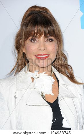 Paula Abdul at the WE Day California held at the Forum in Inglewood, USA on April 7, 2016.
