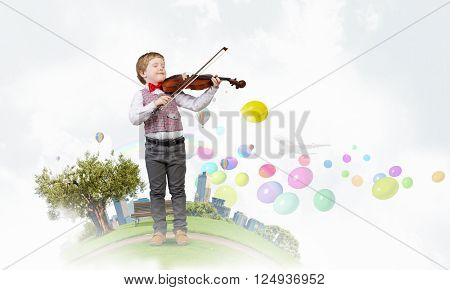 Future genius musician poster