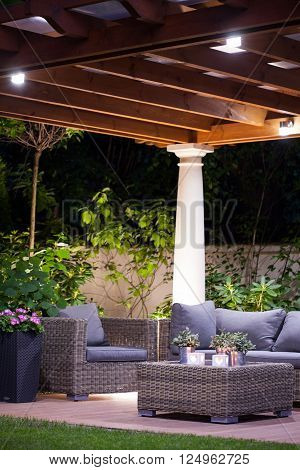 Light And Cozy Terrace