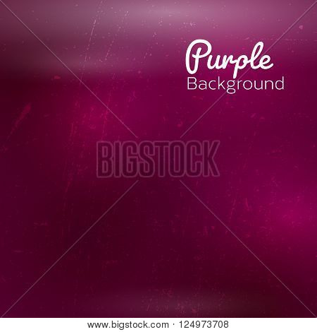 Abstract purple background with sky stars and cosmic rays. Vector illustration.
