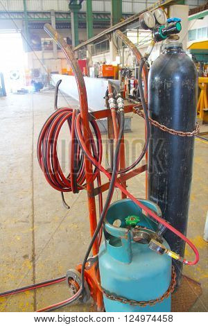 This is the operation and equipment in the industrial environment.