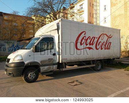 Coca Cola Van
