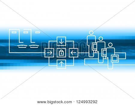 communication graphic