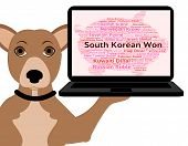 South Korean Won Meaning Worldwide Trading And Coinage poster