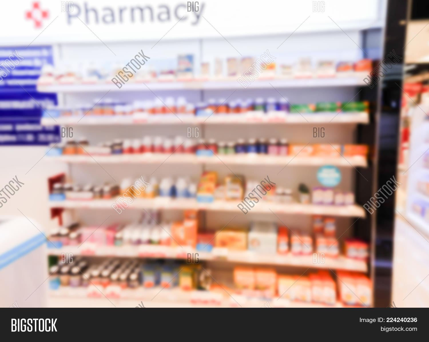 medication in a pharmacy powerpoint template medication in a