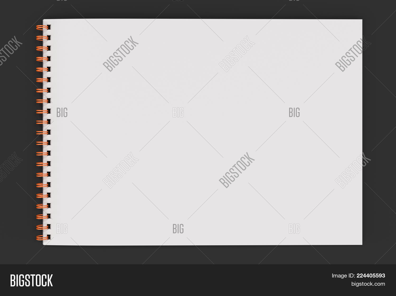 Notebook blank white powerpoint template notebook blank white stationary powerpoint template 60 slides toneelgroepblik Gallery