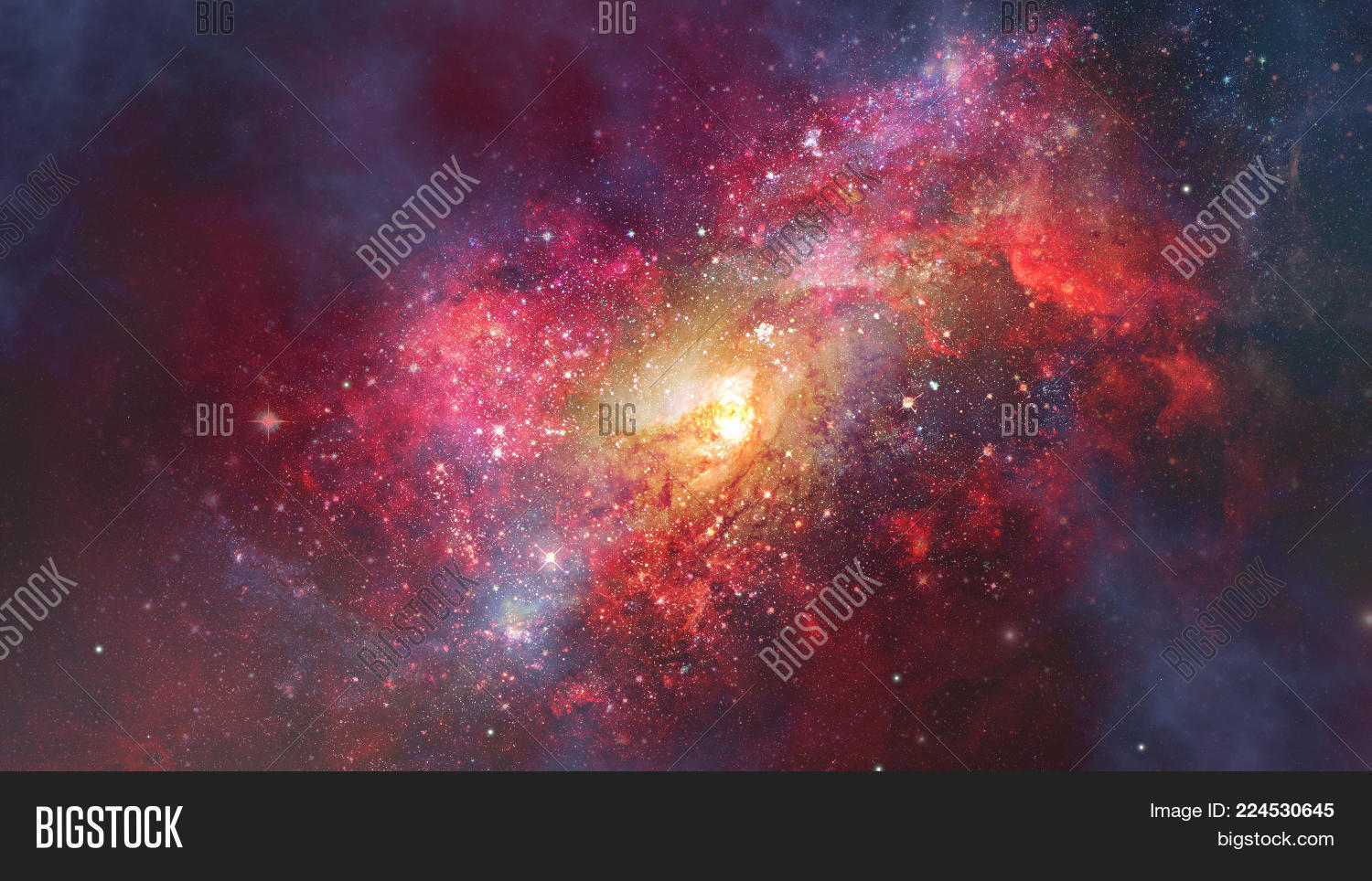 galaxy in space powerpoint template powerpoint template galaxy in