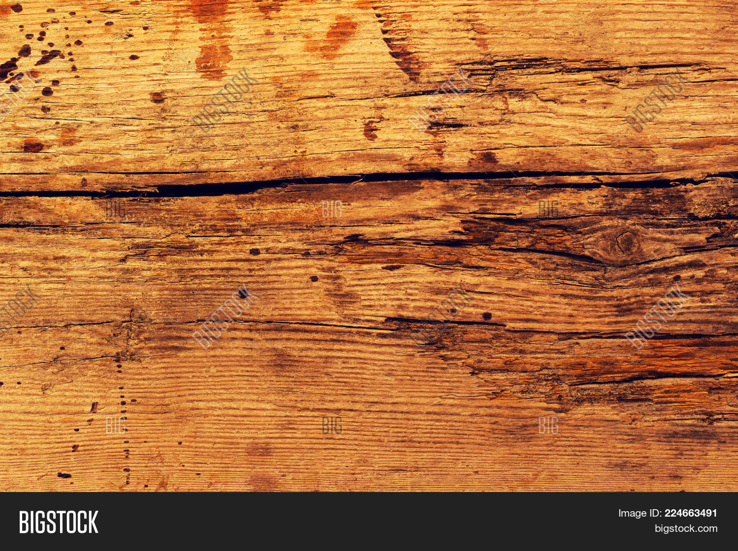 Rough Old Rustic PowerPoint Template
