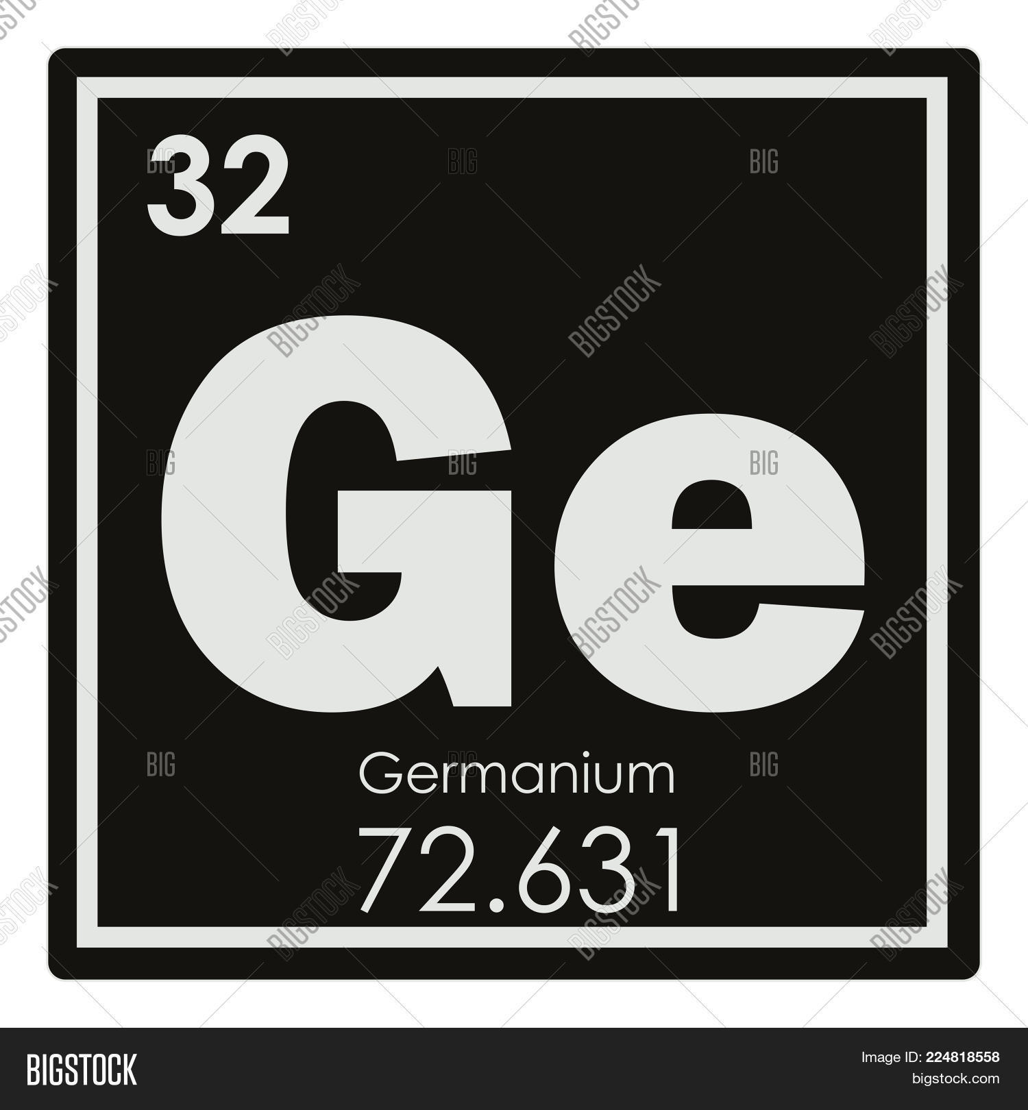 Germanium Chemical Image Photo Free Trial Bigstock