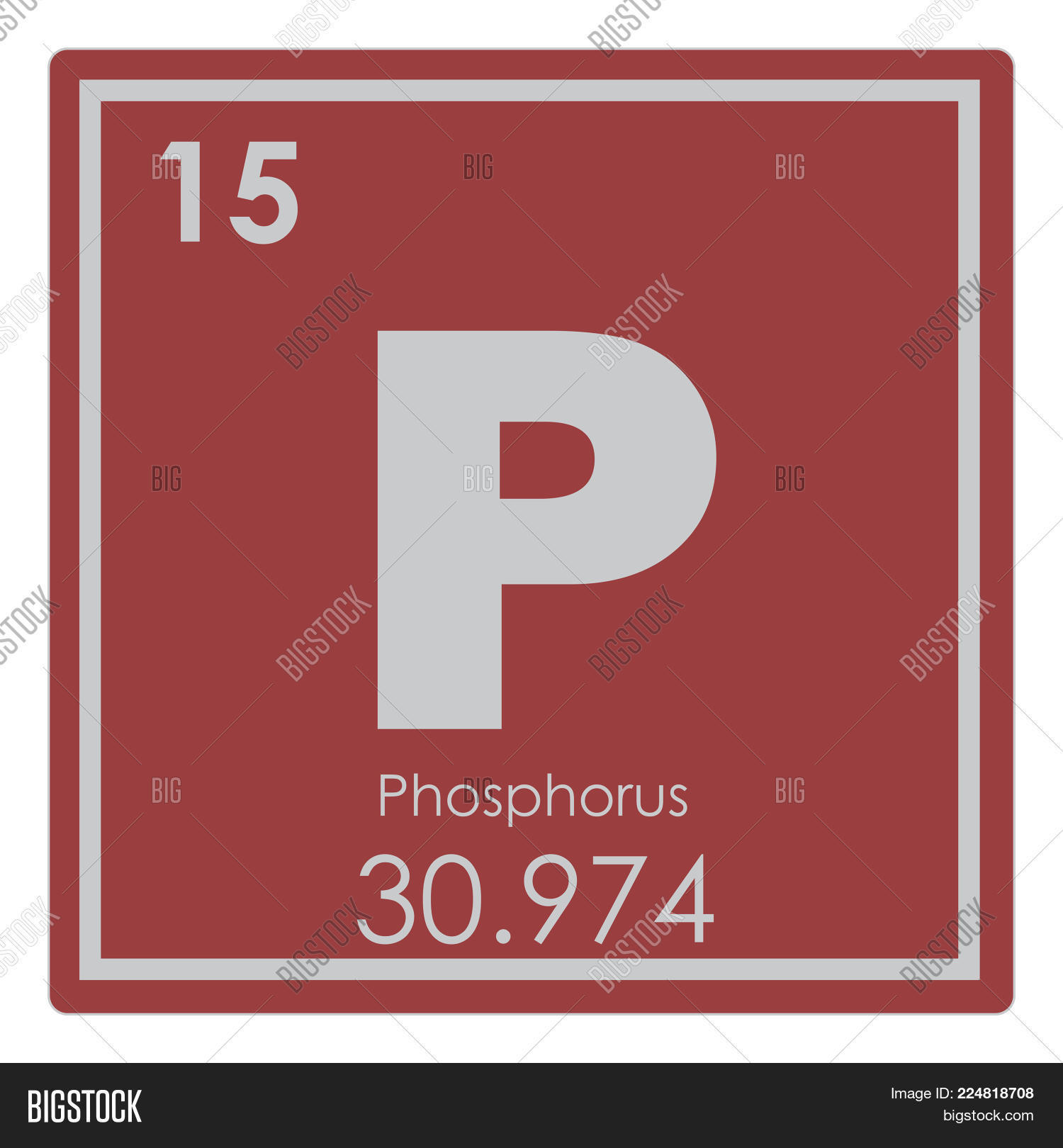 Phosphorus Chemical Image Photo Free Trial Bigstock