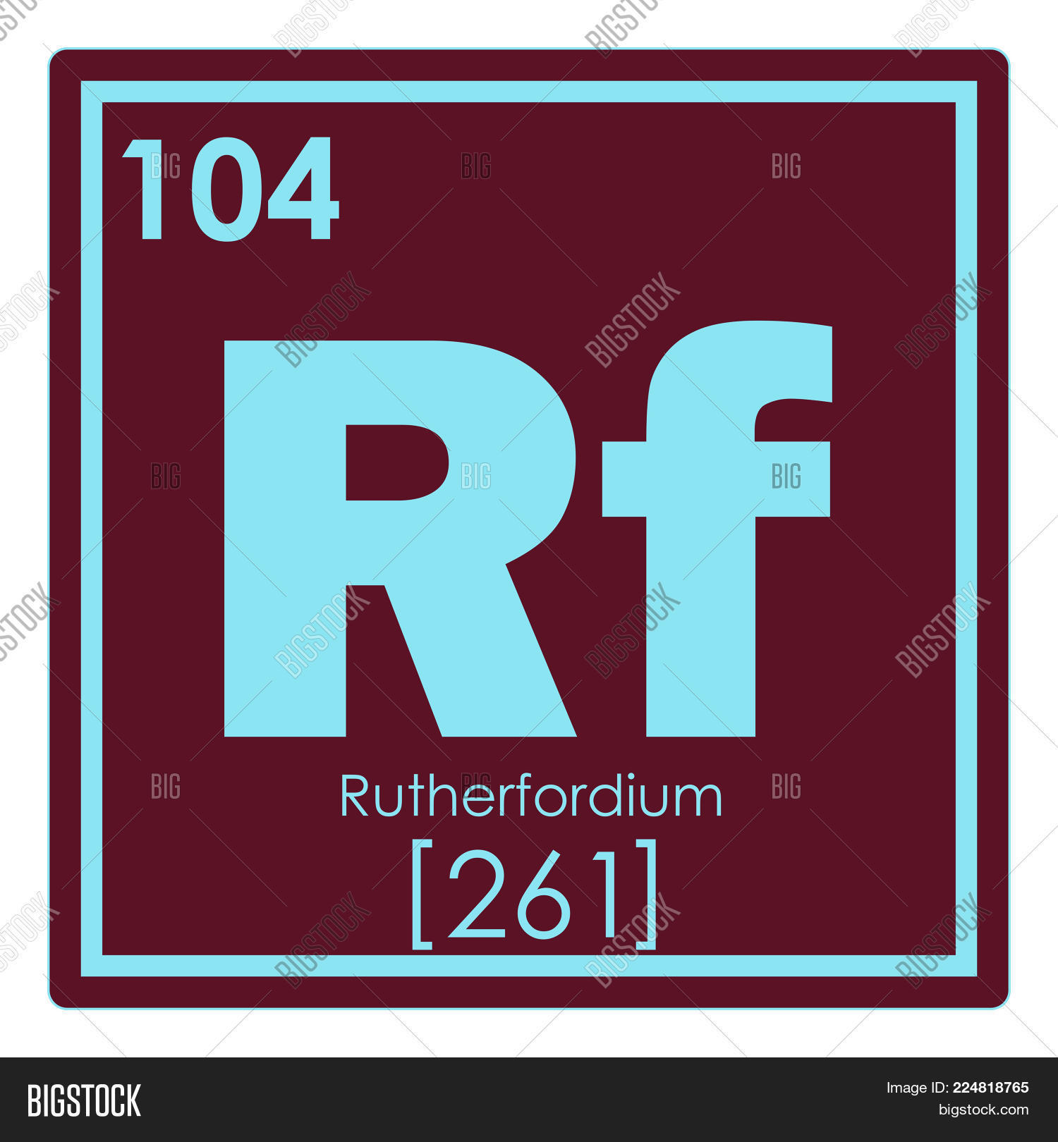 Rutherfordium chemical image photo free trial bigstock rutherfordium chemical element periodic table science symbol urtaz Image collections