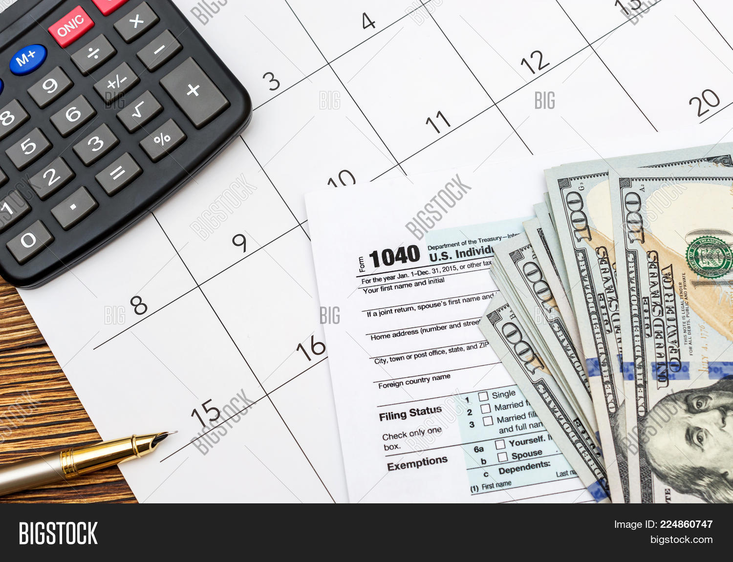 government tax forms with money powerpoint template government tax