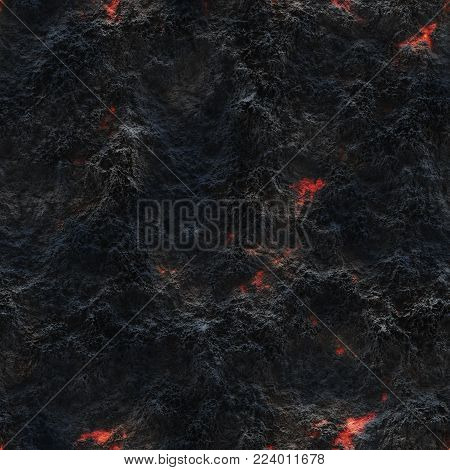 Glow Faded Flame- Natural Pattern