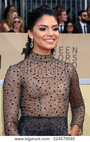 LOS ANGELES - JAN 21:  Shakira Barrera at the 24th Screen Actors Guild Awards - Press Room at Shrine Auditorium on January 21, 2018 in Los Angeles, CA
