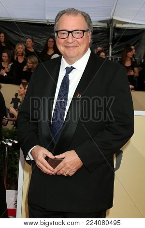 LOS ANGELES - JAN 21:  Stephen Root at the 24th Screen Actors Guild Awards - Press Room at Shrine Auditorium on January 21, 2018 in Los Angeles, CA