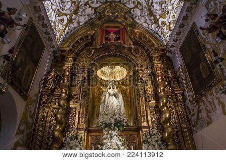 Santa Maria La Blanca Church, Seville, Andalusia, Spain