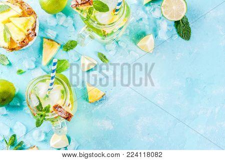 Pineapple Mojito Or Lemonade