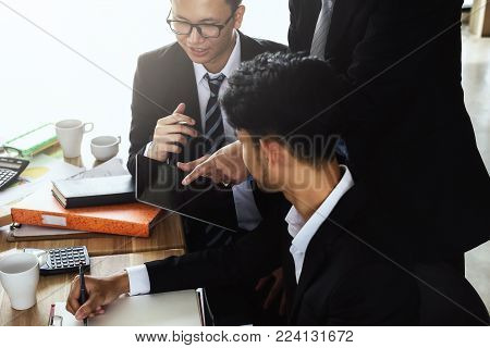 Stress Business Man In Trouble