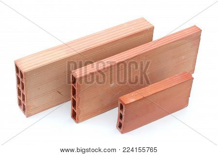 Building materials: hollow blocks for housing construction