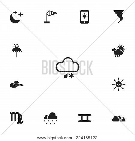 Set 13 Editable Air Icons Vector Photo Bigstock