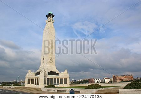 Portsmouth Naval Memorial On The Seafront , Southsea