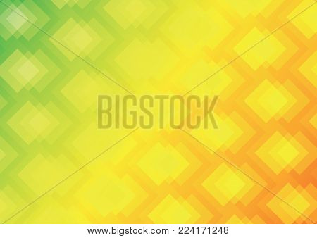 Abstract geometric background. Geometric color gradient. Diamond-shaped gradient background